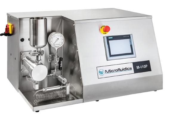 homogénéisateur haute pression laboratoire M110-P