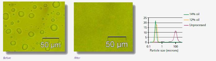 emulsion encapsulation huile de poisson