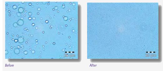 Nanoemulsion Polymère